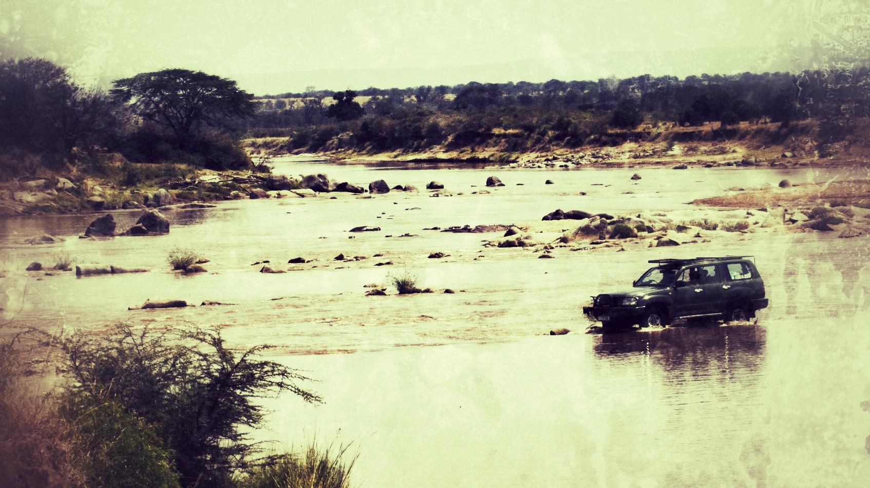 Ghari river crossing